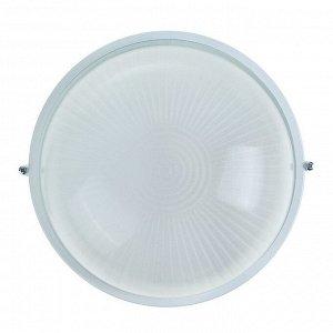 Светильник TDM НПБ1101, Е27, 100 Вт, IP54, круглый, белый