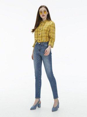 Женские джинсы арт. LKV005-2 светло-синий