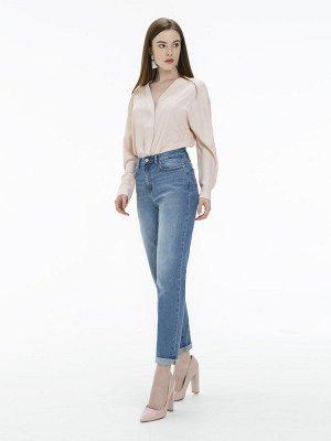 Женские джинсы арт. LMV011-3 светло-синий