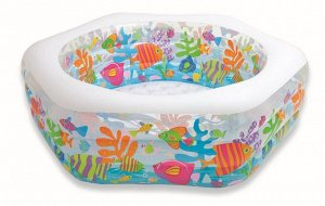 "Детский надувной бассейн Intex ""Океан"" 191х178х61 🌊"
