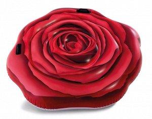 """Надувной плот Intex """"Роза"""" 137х132 см 🌊"""