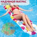 ⛺️Надувной матрас для плавания Intex 183х69 см 🌊
