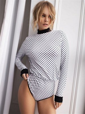 Боди-блузка модель 566-72