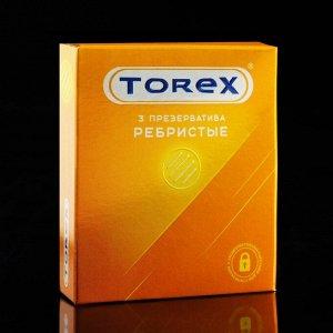 Презервативы «Torex» ребристые, 3 шт