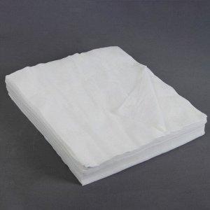 Салфетки косметические, плотность 50г/м2, спанлейс, 30 ? 30 см, 100 шт