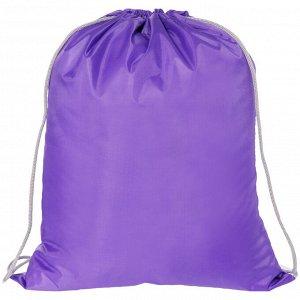 Мешок для обуви 1 отделение ArtSpace, 340*420мм, фиолетовый