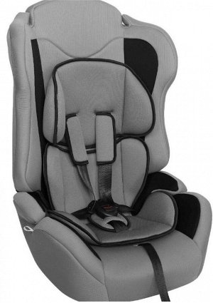 """Детское автокресло """"ZLATEK Atlantic ZL513"""" KRES3021 lux, серый, 1-12 лет, 9-36 кг, группа 1/2/3"""