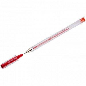 Ручка гелевая OfficeSpace красная, 0,5мм