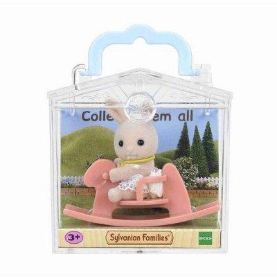 Gulliver - любимые игрушки! Распродажа — SYLVANIAN FAMILIES - флокированные фигурки + аксессуары — Игровые наборы