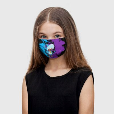 Brawl Stars-3. Зовите детей! Добавили Gone.Fludd — Многоразовые защитные маски Brawl Stars — Бахилы и маски