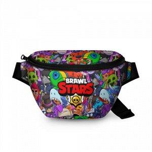 Поясная сумка 3D «BRAWL STARS»