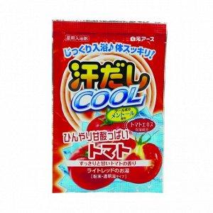 """220481 """"Asedashi COOL"""" Освеж соль д/ванны с экстрактом томата, пакетик 25 гр., 1/360"""