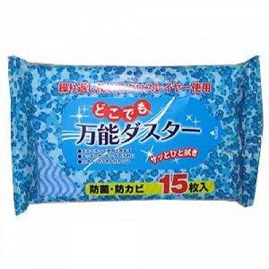 """""""Showa Siko"""" Влажные салфетки для удаления пыли 15шт 200мм х 300мм"""