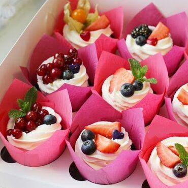🍰Печём дома-6🍰В наличии🍰   — Бумажные формы для выпечки кексов и маффинов — Все для выпечки