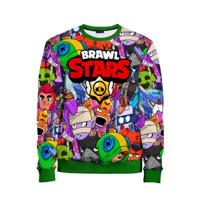 Brawl Stars. Детская одежда и аксессуары — Свитшоты 3D Brawl Stars — Свитшоты и толстовки