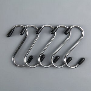 Набор крючков для рейлинга, d=2 см, 5 шт