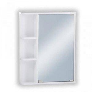 Шкаф-зеркало Стандарт-55 левый