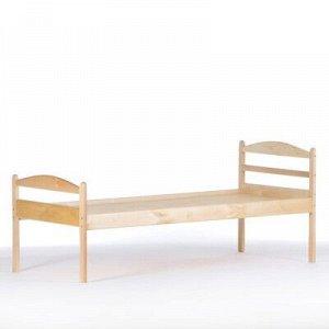 Кровать детская Ника, 1400x600x600, Массив
