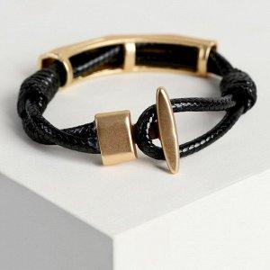 """Браслет ассорти """"Шаман"""" дуга, цвет золото, L=19,5 см"""