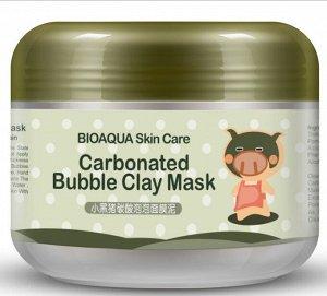 Очищающая пузырьковая маска на основе глины