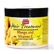 Банна. Маска для волос Манго и Витамин Е 300 мл.