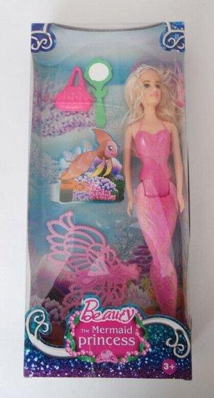 Кукла-русалка с аксессуарами