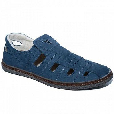 Рос обувь мужская, женская с 32 по 48р натуральная кожа+sale — Лето без рядов мужская + замеры колодки — Для мужчин
