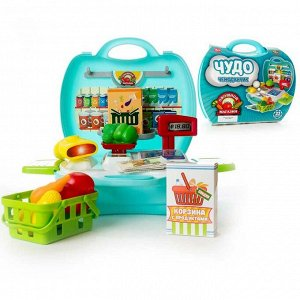 Игровой набор Abtoys Чудо-чемоданчик Овощной магазин 23 предмета1174
