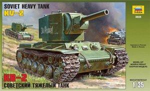Сборная модель ZVEZDA Советский тяжелый танк КВ-25