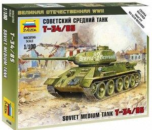 Сборная модель ZVEZDA Советский средний танк Т-3414