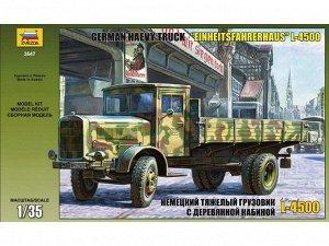 Сборная модель ZVEZDA Немецкий грузовик с деревянной кабиной10