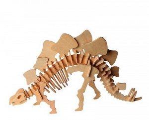 Сборная деревянная модель Чудо-Дерево Динозавры Стегозавр малый (2 пластины)9