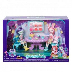 """Игровой набор Mattel Enchantimals """"Чаепитие Пэттер Павлины и Бри Кроли""""39"""