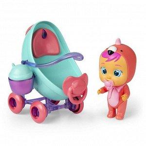 Игровой набор IMC Toys Cry Babies Magic Tears Плачущий младенец Фэнси в комплекте с коляской и аксессуарами174