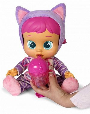 Кукла IMC Toys Cry Babies Плачущий младенец Katie, интерактивная, эл/мех, 31 см31