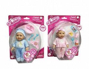 """Пупс """"Micro Baby"""", 15 см, в костюмчике, с аксессуарами, в ассортименте13"""