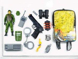 Набор игровой военный в рюкзачке15