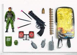 Набор игровой военный в рюкзачке516