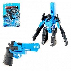 Робот «Револьвер», трансформируется, цвета МИКС