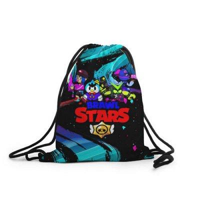 Brawl Stars. Одежда и аксы. Новинки! — Рюкзаки-мешки 3D Brawl Stars — Сумки и рюкзаки
