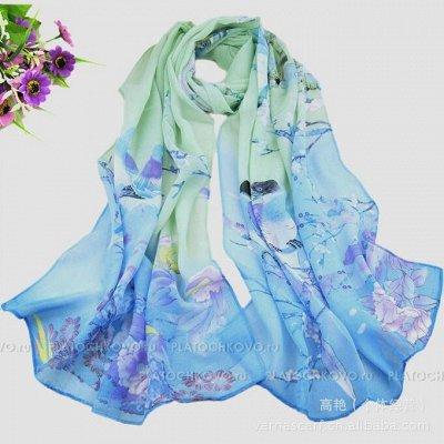 Платки, шарфы на любой случай 2 — Тонкие шарфики — Платки и шарфы