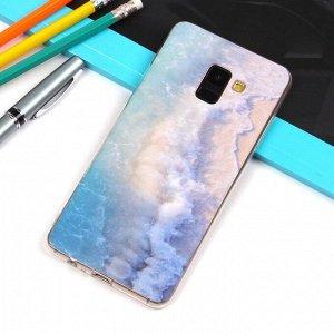Матовый чехол для Samsung Galaxy A8+ (2018), арт.010738