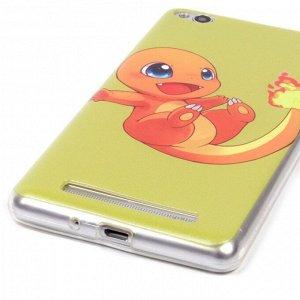Чехол ТПУ Покемон для Xiaomi Redmi 3, арт.009218