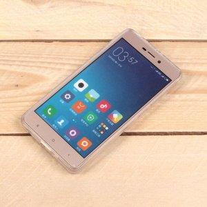 Силиконовый чехол для Xiaomi Redmi 3X, 1 мм, арт.008291-1