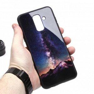 Глянцевый чехол для Samsung Galaxy A6+ (2018), арт.010688