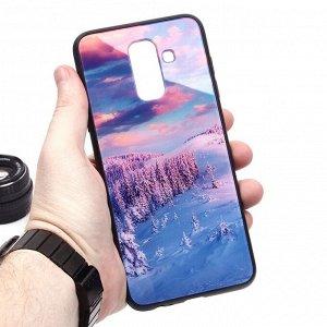 Глянцевый чехол для Samsung Galaxy A6+ (2018), арт.010690