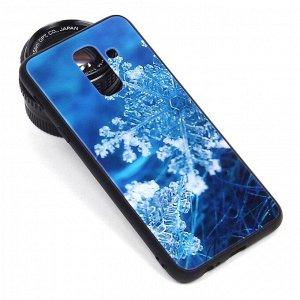 Глянцевый чехол для Samsung Galaxy A6+ (2018), арт.010691