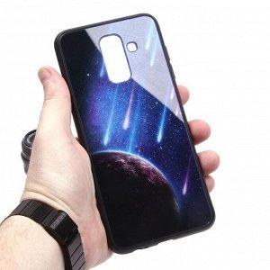 Глянцевый чехол для Samsung Galaxy A6+ (2018), арт.010692
