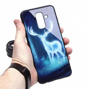 Глянцевый чехол для Samsung Galaxy A6+ (2018), арт.010693