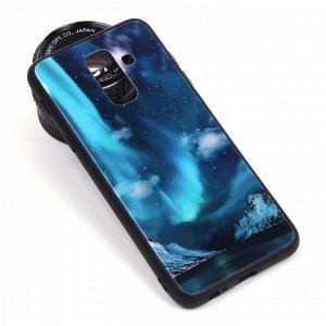 Глянцевый чехол для Samsung Galaxy A6+ (2018), арт.010694